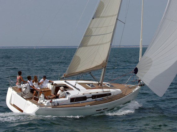 Bareboat Sail boat Dufour 375 GL China girl (Bowthruster, full teak deck, sails 2018) - details
